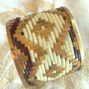 Jewelry - Woven Metal Cuff Bracelet
